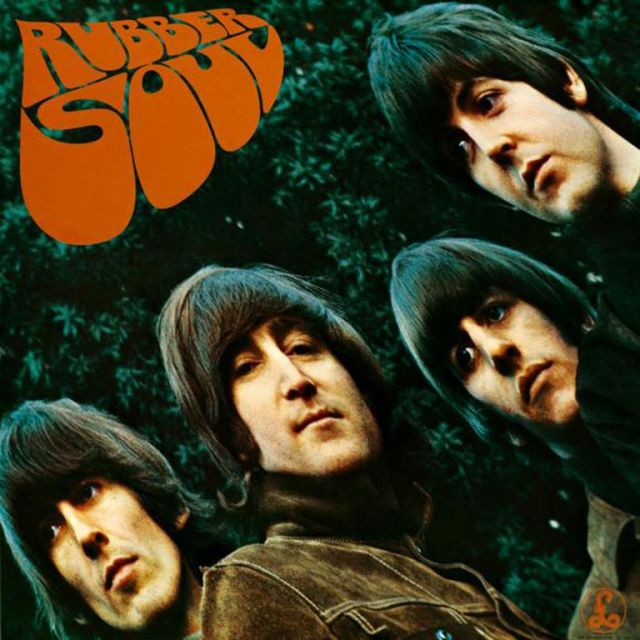 La tapa de Rubber Soul