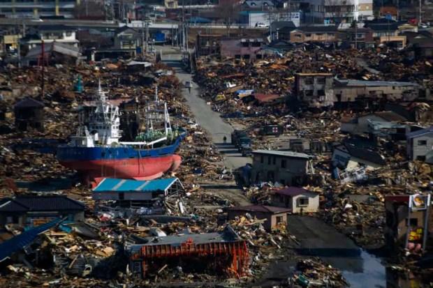 El 11 de marzo de 2011, un terremoto de nueve grados en la escala de Richter provocó un tsunami en Japón que tuvo olas de hasta 40 metros