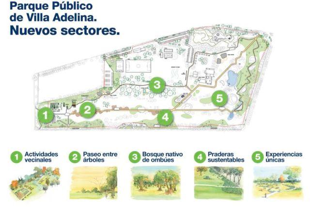El plan para el nuevo parque que promociona la Municipalidad de San Isidro