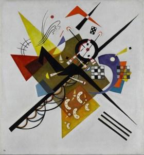 Auf Weiss II (Sur blanc II), Vassily Kandinsky, 1923
