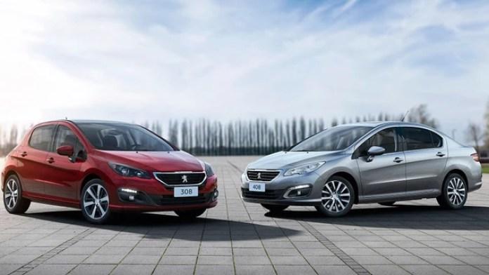 Peugeot 308 y 408, de fabricación nacional, no pagan el gravamen.