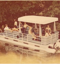 pontoon boat poster [ 1200 x 948 Pixel ]