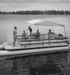pontoon boat poster [ 1200 x 960 Pixel ]