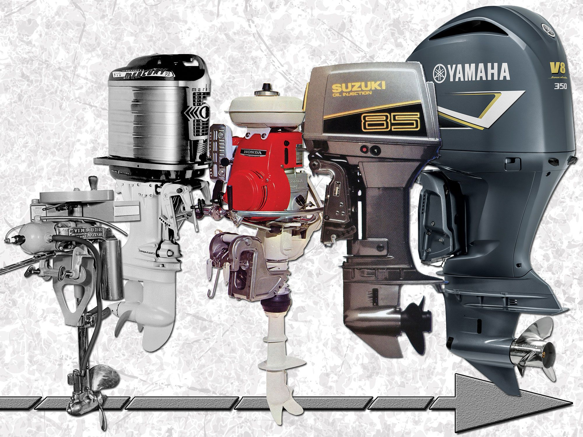 hight resolution of outboard engine evolution from portable to digital sport fishing magazine