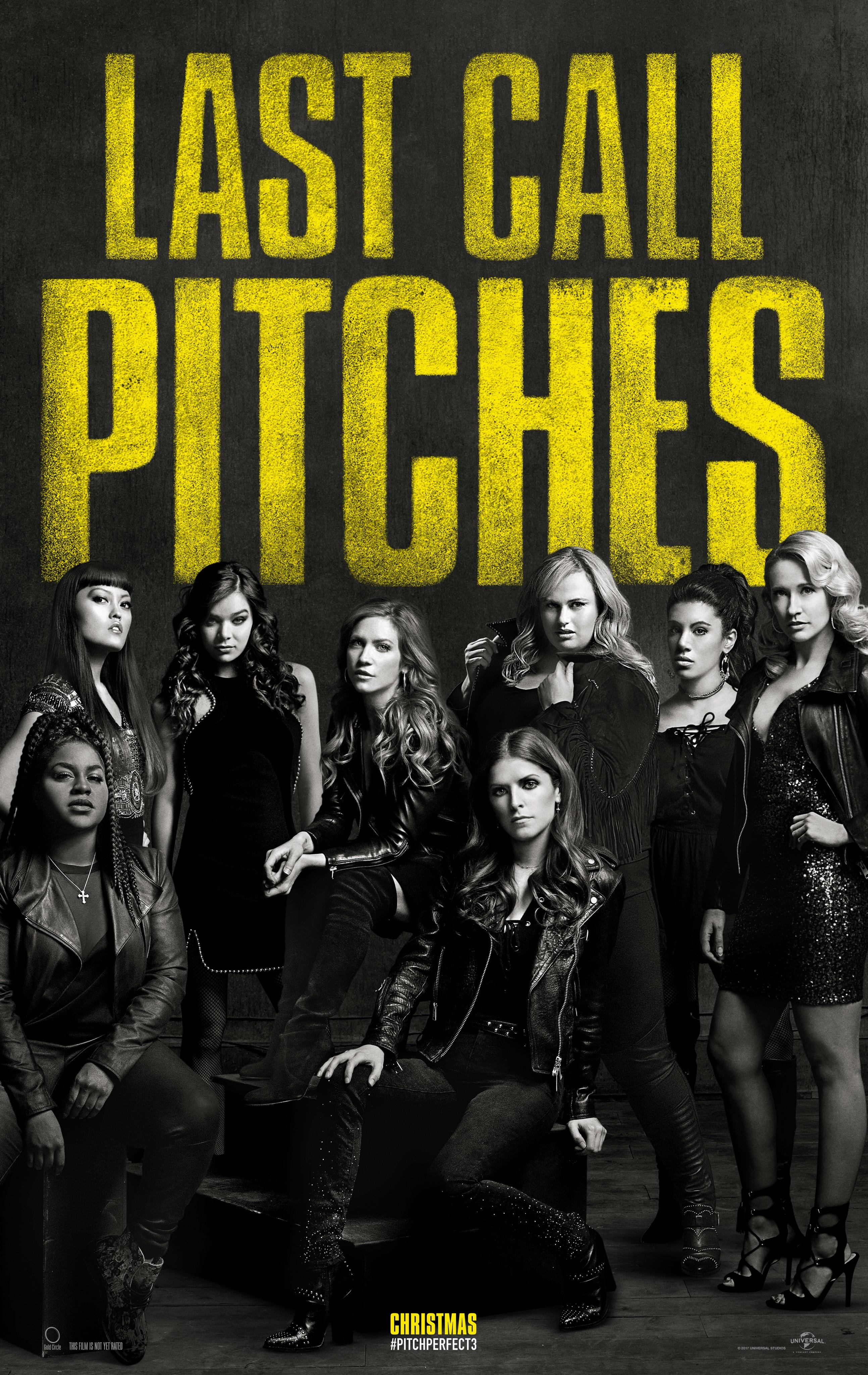 Nonton Pitch Perfect 3 Subtitle Indonesia : nonton, pitch, perfect, subtitle, indonesia, Pitch, Perfect, (2017), Rotten, Tomatoes