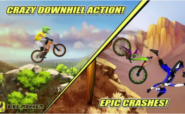 Bike Mayhem Mountain Racing Awesome Game For Android Phone
