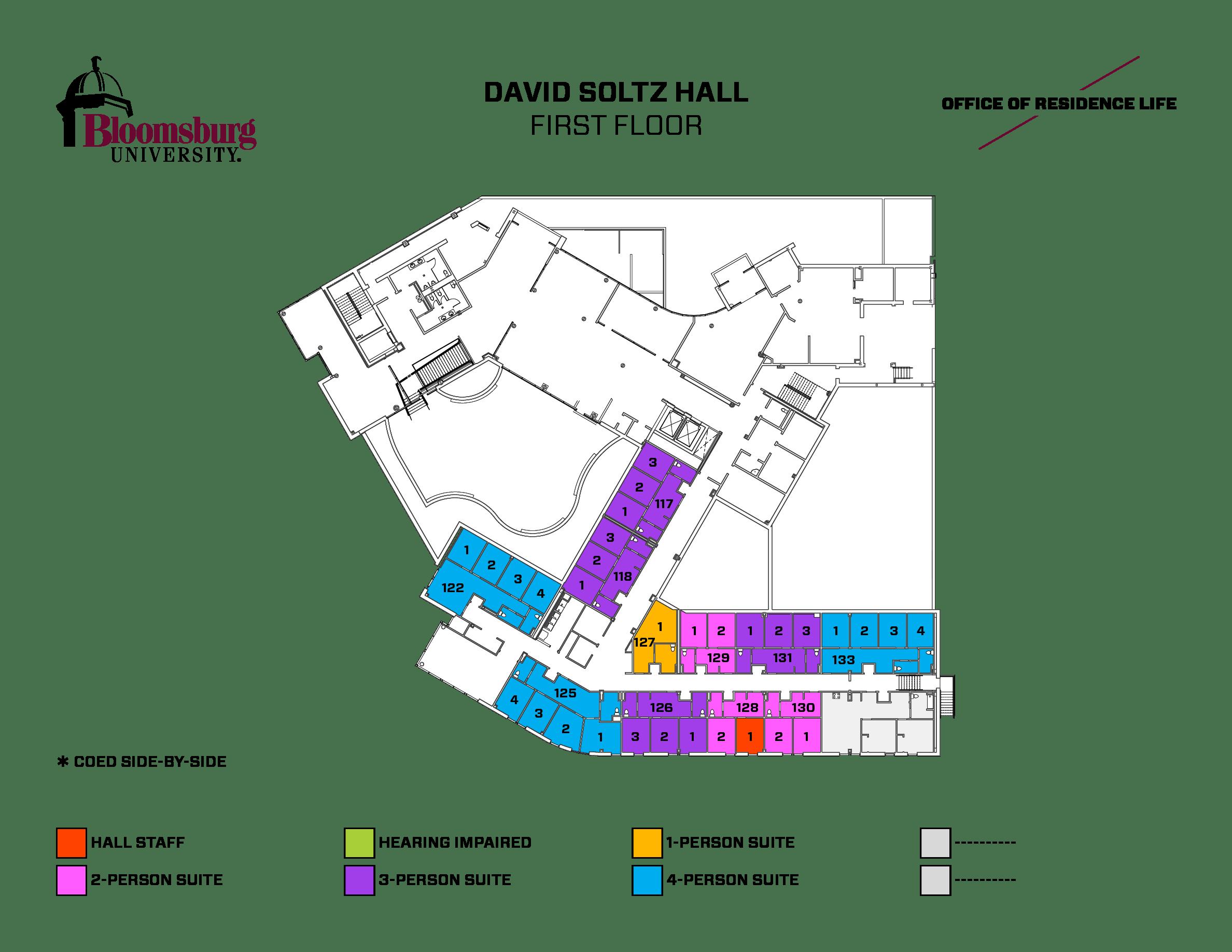 Bloomsburg University Campus Map Where Chik