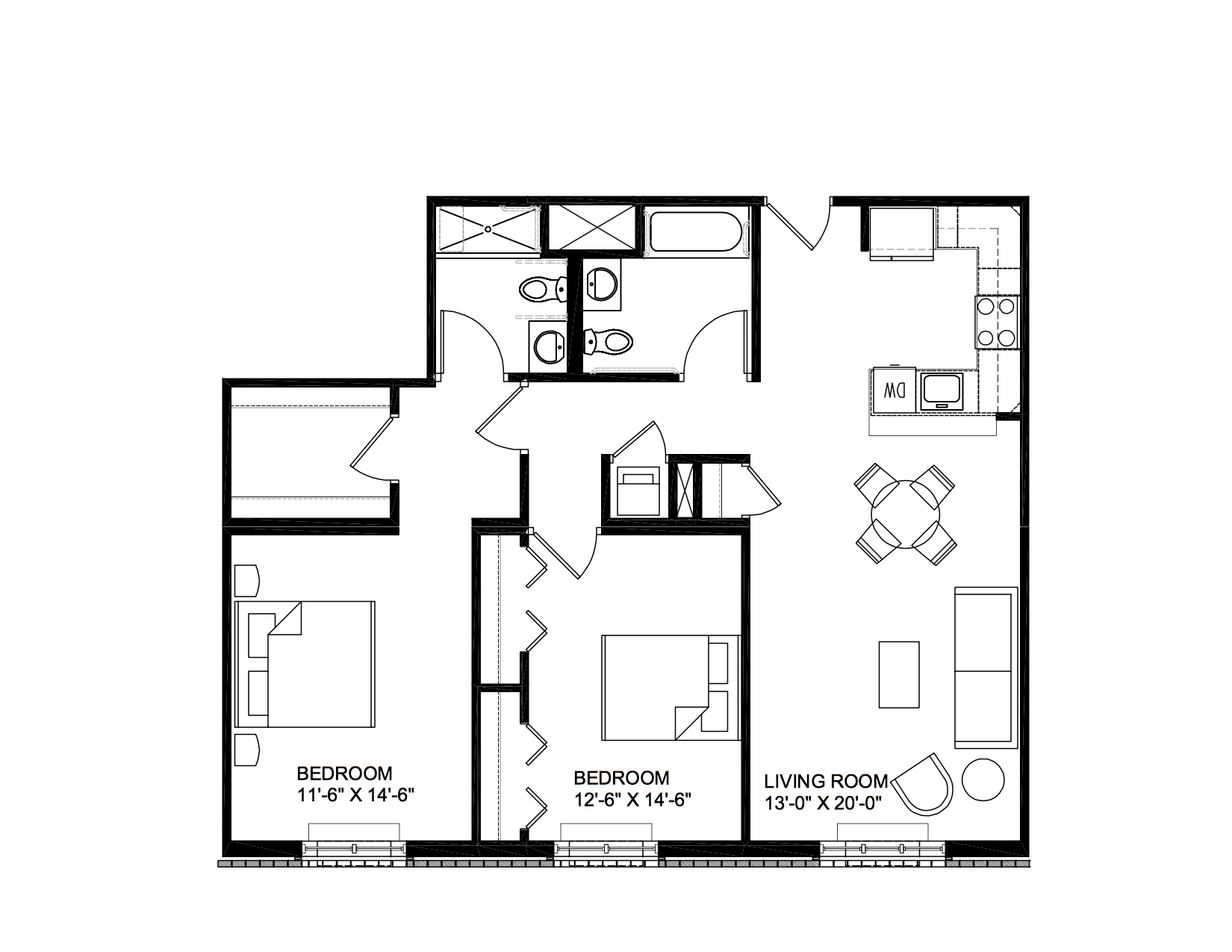 The Lombardi Apartments Floor Plans Designs New Rochelle Nyc