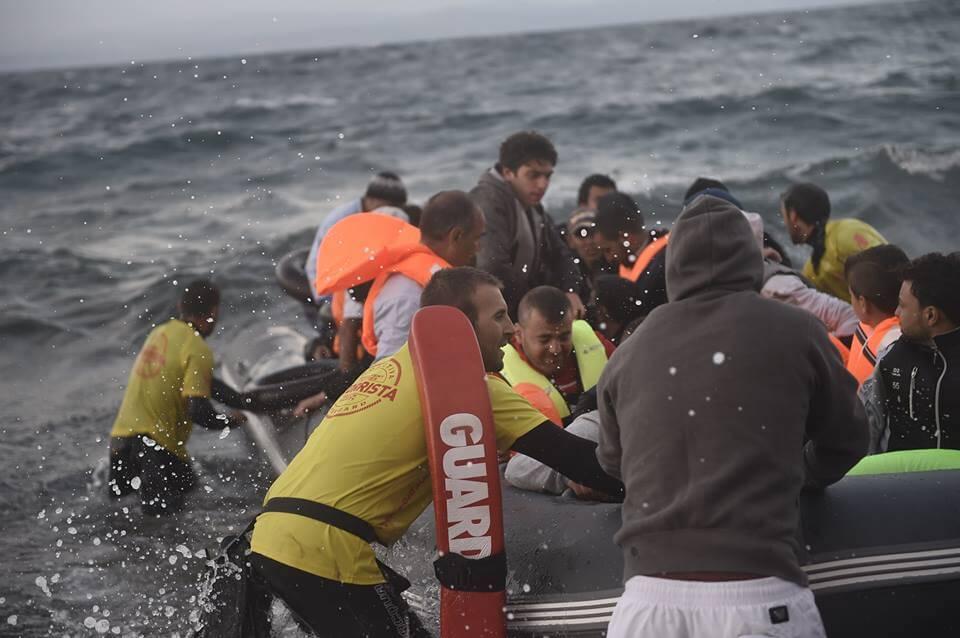 Foto: Rescate refugiados en el Mediterráneo. Proactiva Open Arms