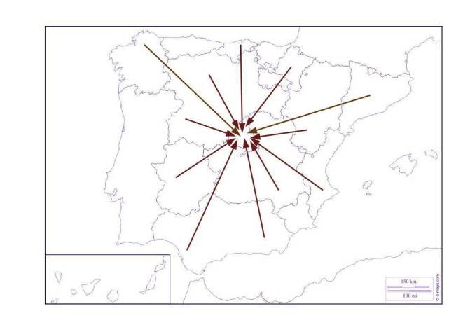 Mapa España-Nacionalismos