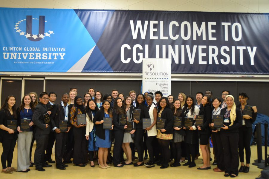 Clinton Global Initiative University 2016 SVC Winner Announcement