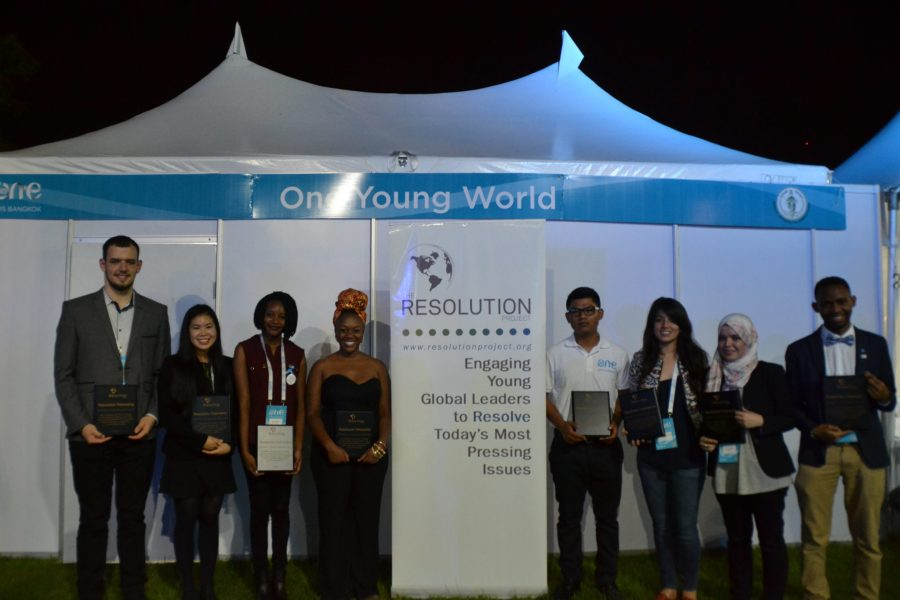 One Young World Summit 2015 SVC Winner Announcement