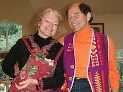 Martha Fay Africa and Stewart Levine