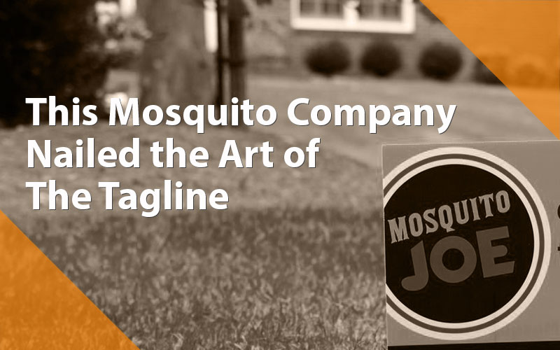 This Mosquito Company Nailed their Marketing Tagline
