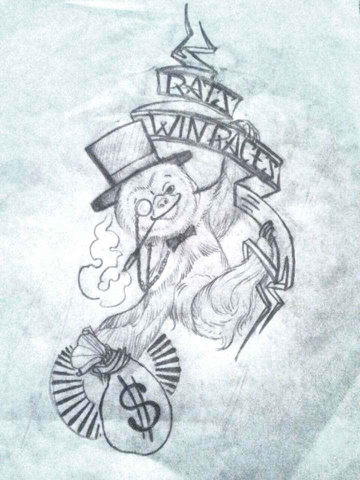 Gangster Monopoly Man Tattoo : gangster, monopoly, tattoo, Monopoly, Tattoo, Designs, DesaignHandbags