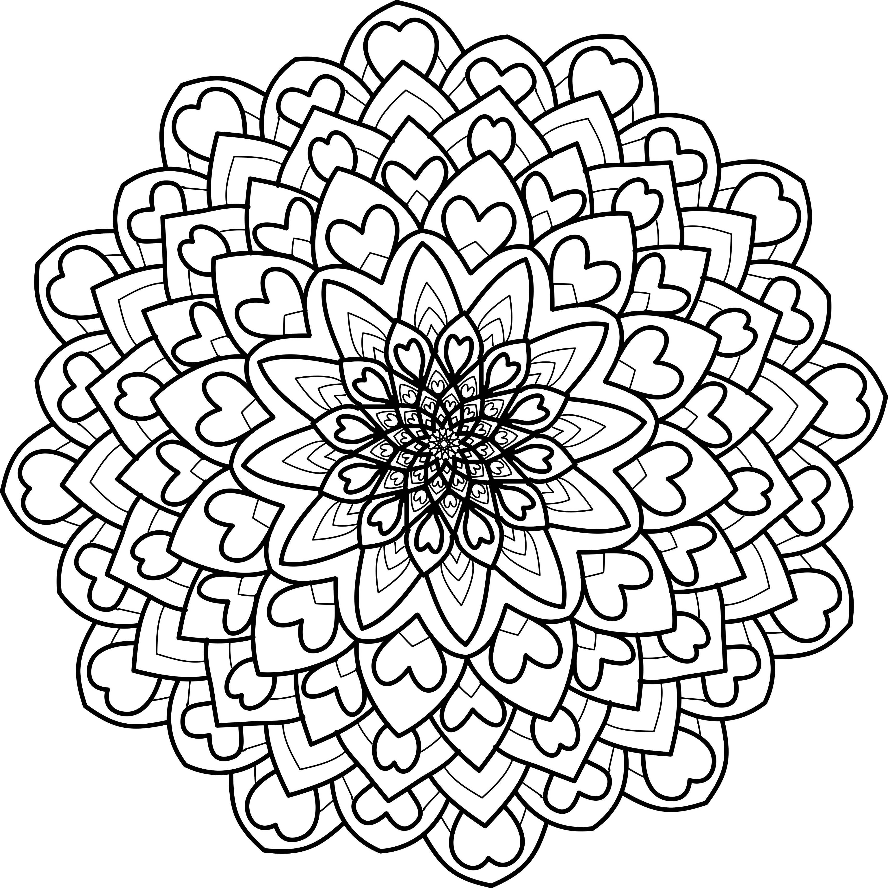 mandala and mandorla coloring books, grab em while they're