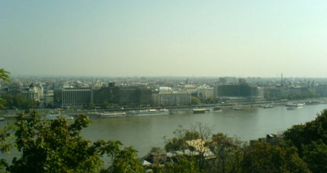 Höst i Budapest