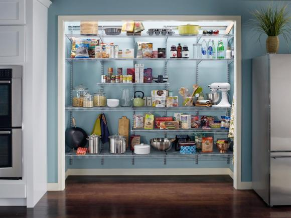 adjustable-wire-shelving-is-an-inexpensive-product-for-customizing-your-pantry-space