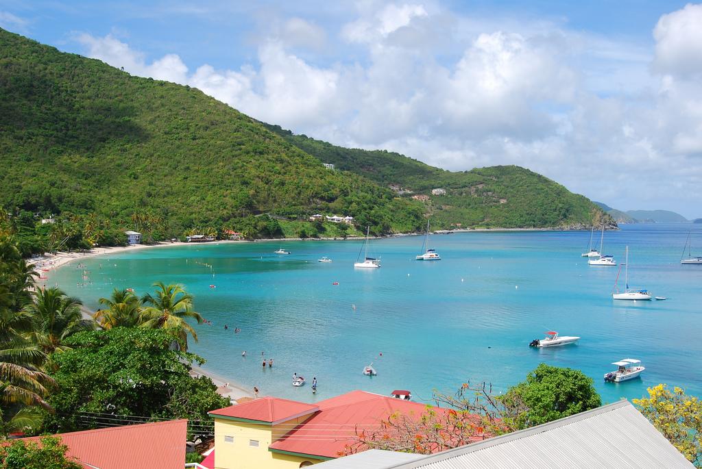 Cane Garden Bay  British Virgin Islands  Resort Cams