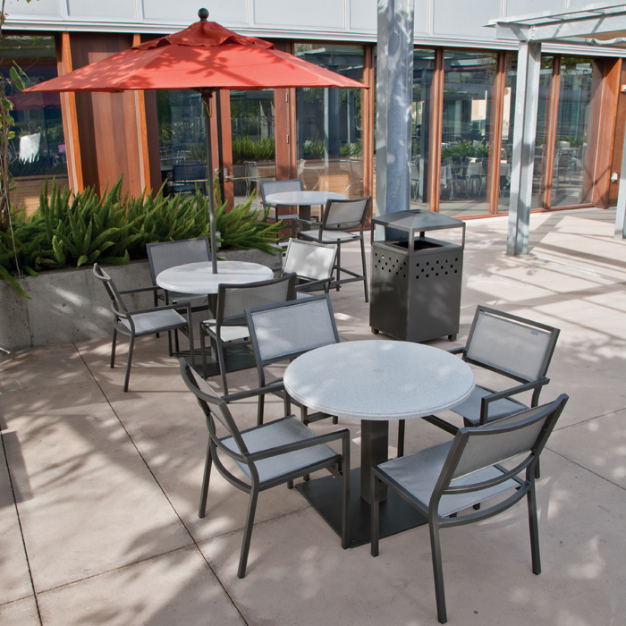 sling chair outdoor resin patio chairs clearance cabana club aluminum - commercial furniture at low prices! resort contract furnishings