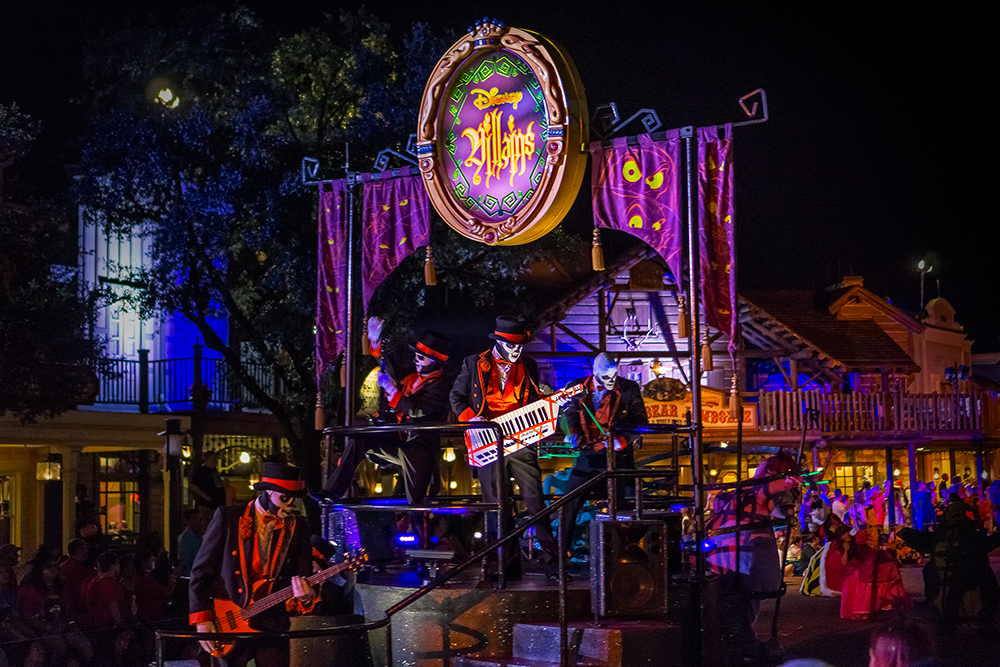 the Villains Float