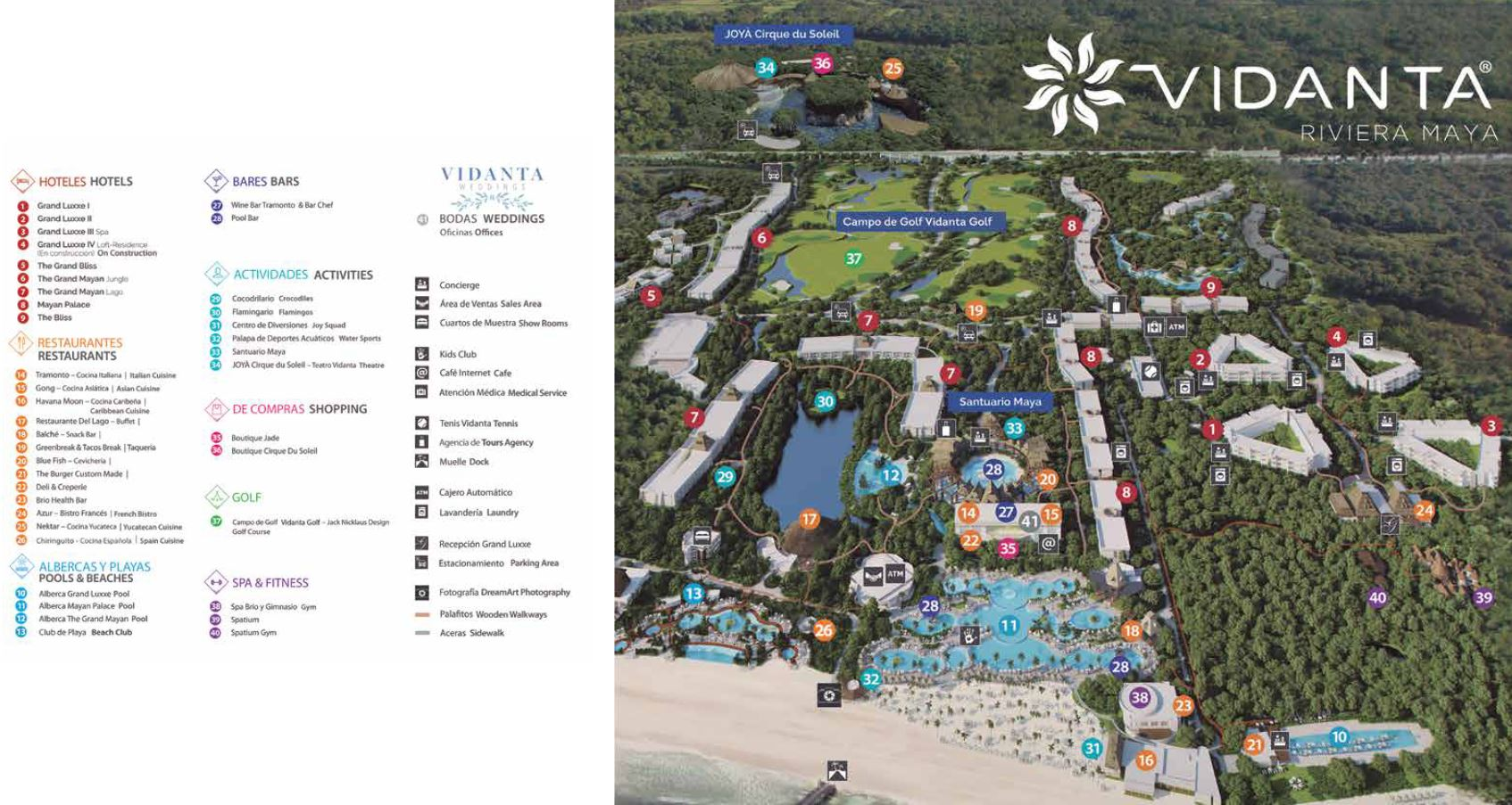 Moon Palace Cancun Resort Map : palace, cancun, resort, Resort, Mayan, Palace, Riviera, Maya,, Mexico