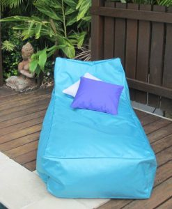 Kahuna indoor outdoor bean bag lounger in Turquoise