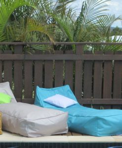 Kahuna indoor outdoor bean bag loungers poolside