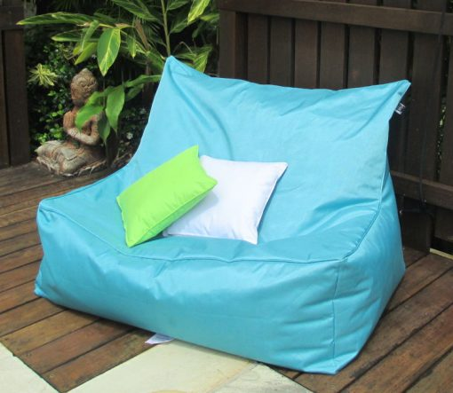 USTIME - indoor outdoor double bean bag turquoise 782-680
