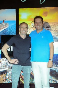 From left, Les Wynn, Representative and Partner of Wynn Group of Companies and Markus Wischenbart, President and CEO, Lifestyle Holidays Vacation Club.