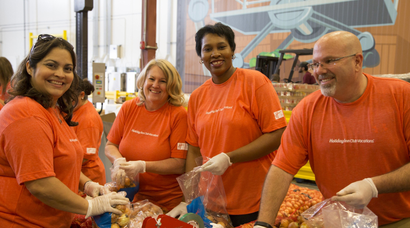 Record Year Of Giving By Holiday Inn Club Vacations® Brand And Team Members Supports National And Local Charities