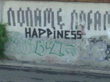 Graffiti wall in the Navigli
