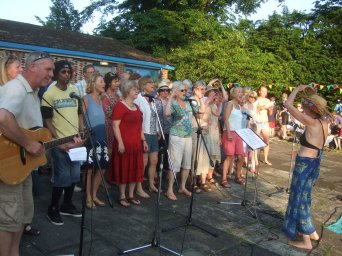 Sing and Swim for WaterAid