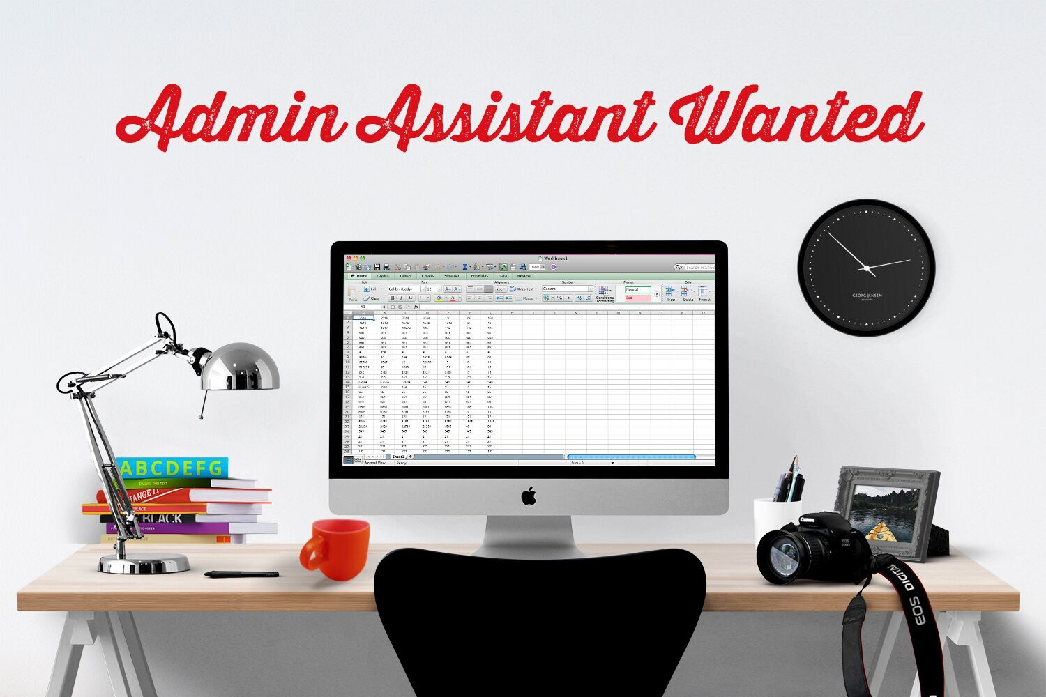 Wanted Admin Assistant