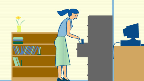 Honesty vs Self-Interest at Work Scenario Image