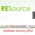 RE Curriculum Framework