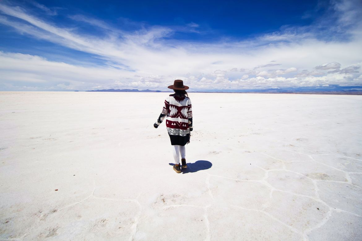 Photo of the Salar de Uyuni by Jeison Higuita on Unsplash