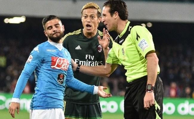 Banti Designato Per Sampdoria Napoli I Precedenti Degli