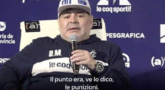 Gimnasia La Plata, Maradona sings in conference after the victory: Oh le le, oh la la, Diego is del Lobo (VIDEO)