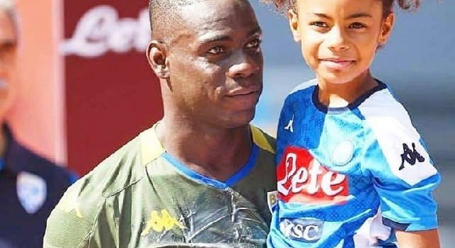 You are a negro of me ** a, offended Balotelli's daughter in kindergarten