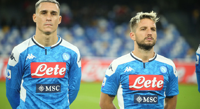 Renewals Mertens and Callejon, CorSport: offered a new biennial in the Salzburg trip, figures and details