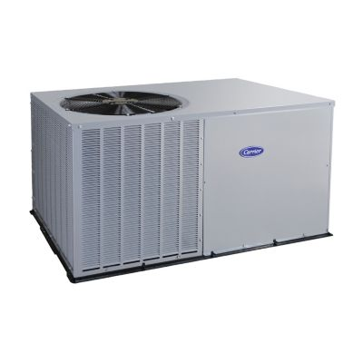 carrier comfort 5 ton 14 seer residential packaged air conditioning unit tin plated coil  [ 1600 x 1600 Pixel ]
