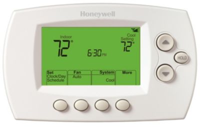 honeywell wifi thermostat kit asco 918 wiring diagram th6320wf1005 communicating programmable thermostats focuspro 6000 3h 2c 7 day
