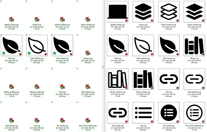 SVG thumbnails in sync folders most often not working