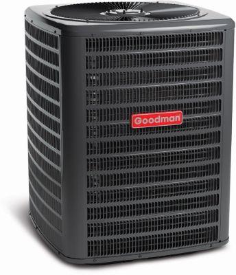 goodman gsx series split system air conditioner 5 ton 13 seer 410a 3 phase [ 1287 x 1500 Pixel ]