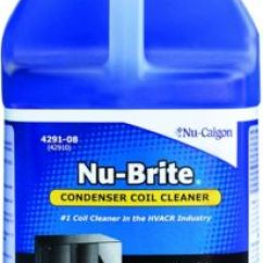 Kitchen Cabinet On Wheels Most Popular Cabinets Nu-brite® Condenser Coil Cleaner