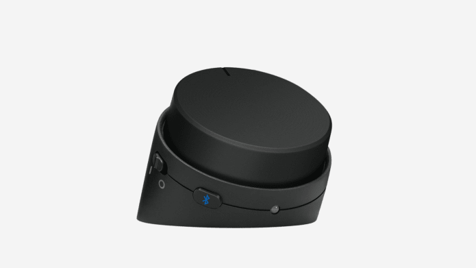 volume and headphone jack control dial