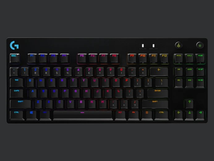 Logitech G Pro X Mechanical Gaming Keyboard With Swappable Switches