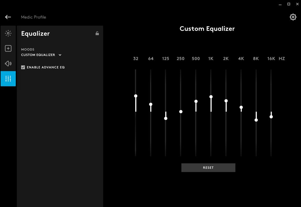 Personaliza perfiles de sonido