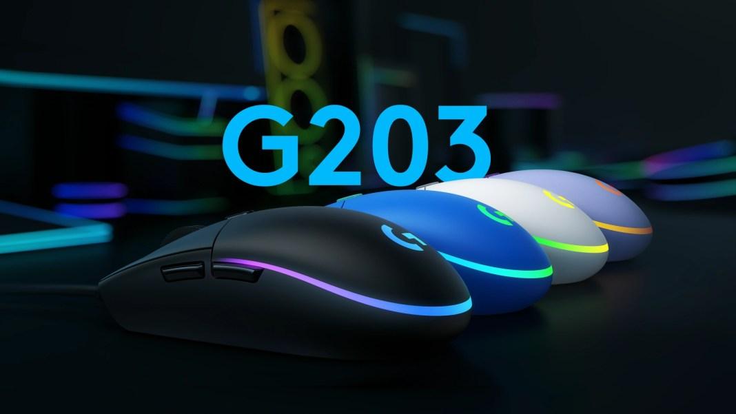 Mouse Gamer Logitech G203 RGB Lighsync 6 Botones 8000 Dpi - Tecnoplaza